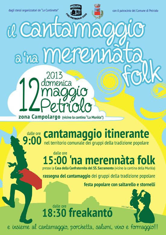Cantamaggio 2013 - Petriolo MC