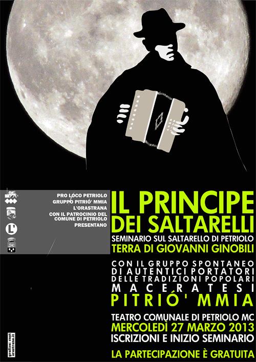 Il Principe dei Saltarelli – Seminario sul saltarello di Petriolo con il gruppo Pitrió' mmia