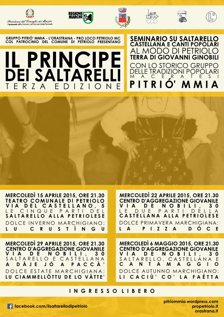 Il Principe dei Saltarelli - Terza edizione