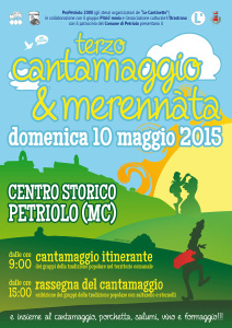 Terzo Cantamaggio di Petriolo (Macerata) - domenica 10 maggio 2015