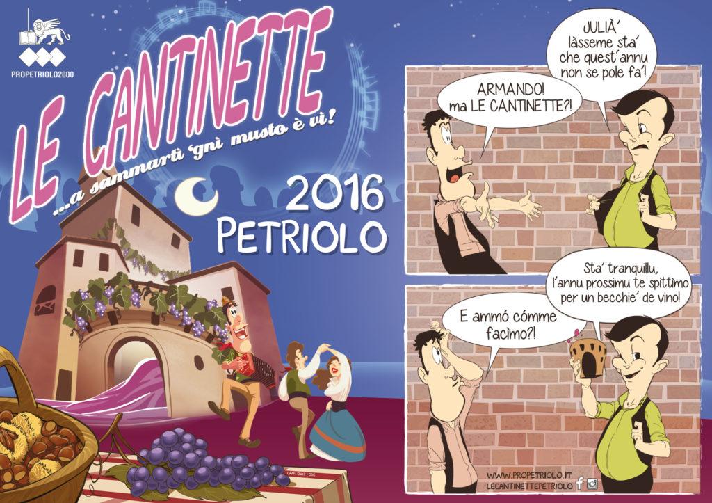 Le Cantinette 2016