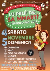 Lu prui' de Sa' Mmartì' - Petriolo (MC), 4 e 5 novembre 2017