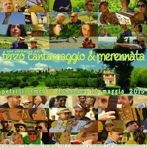 Cartolina dal Cantamaggio 2014 di Petriolo MC (clicca per ingrandire)
